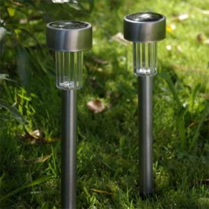 zahradní solární osvětlení