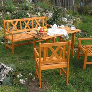 zahradní set